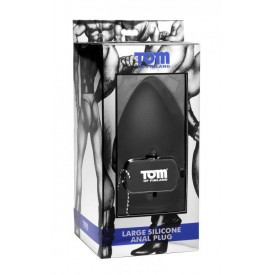 Анальная пробка Tom of Finland XL Silicone Anal Plug - 14 см.