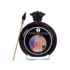 Декоративная крем-краска для тела с ароматом шоколада